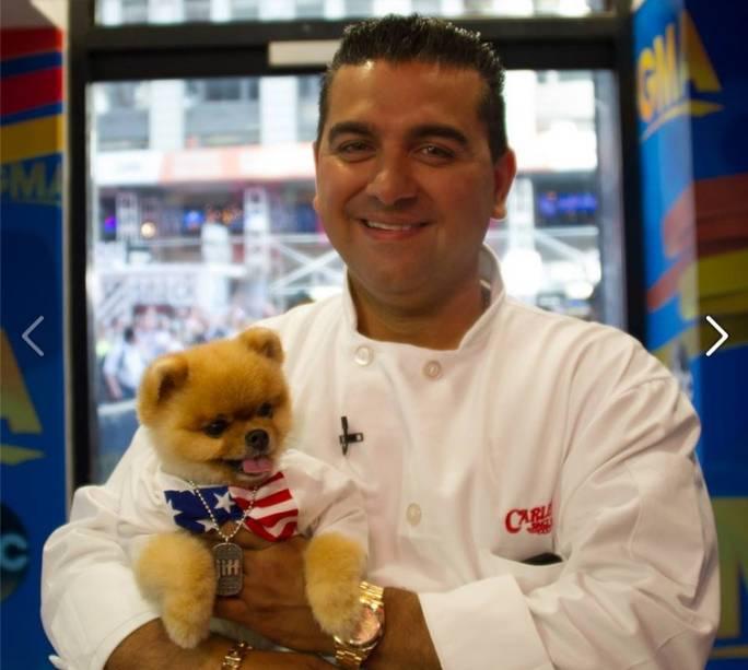 O confeiteiro e apresentador Buddy Valastro também adora pets