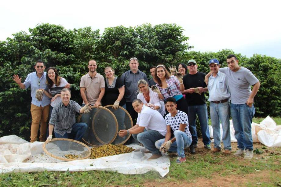 Da semente à xícara: turma será acompanhada pelos funcionários da fazenda