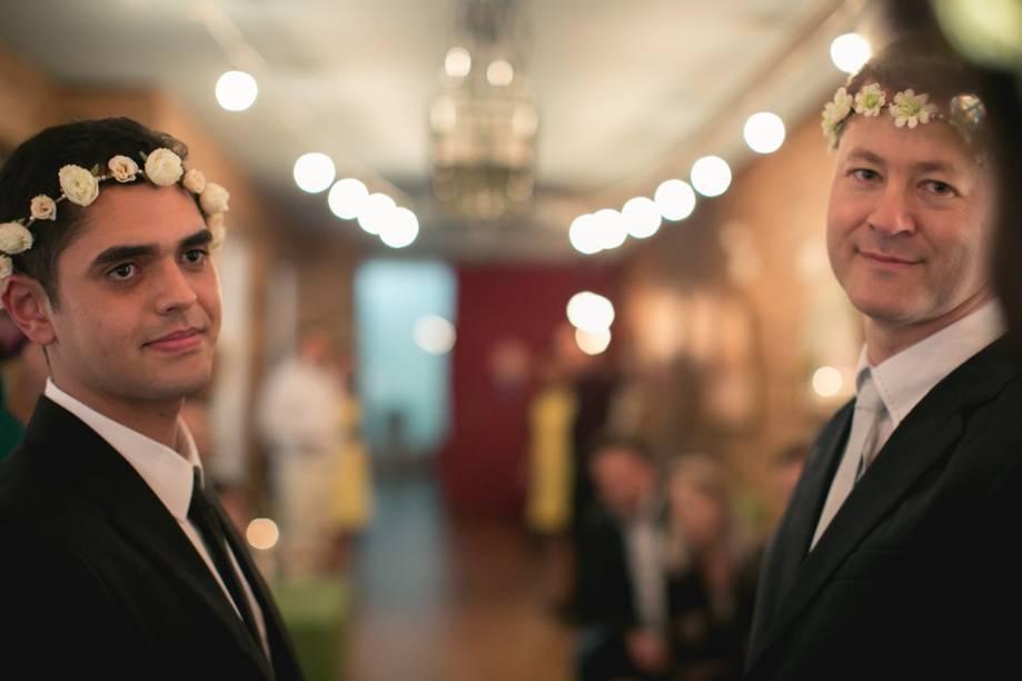 Os noivos: Nicolas e José