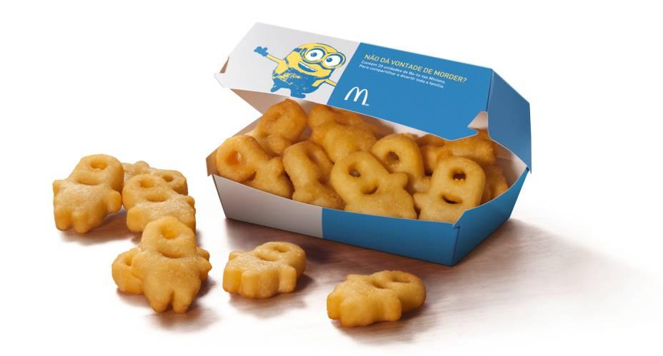 Batatas em formato de Minion são novidade da McCain para o McDonalds