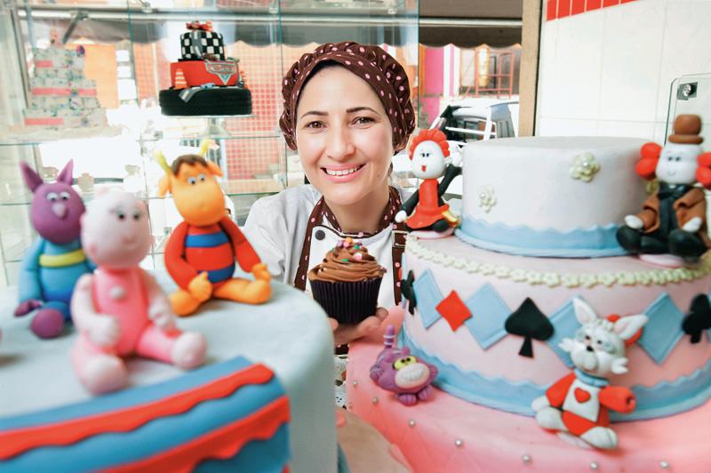 A doceira Marizete Silva: clientes na Vila Olímpia, no Itaim e nos Jardins