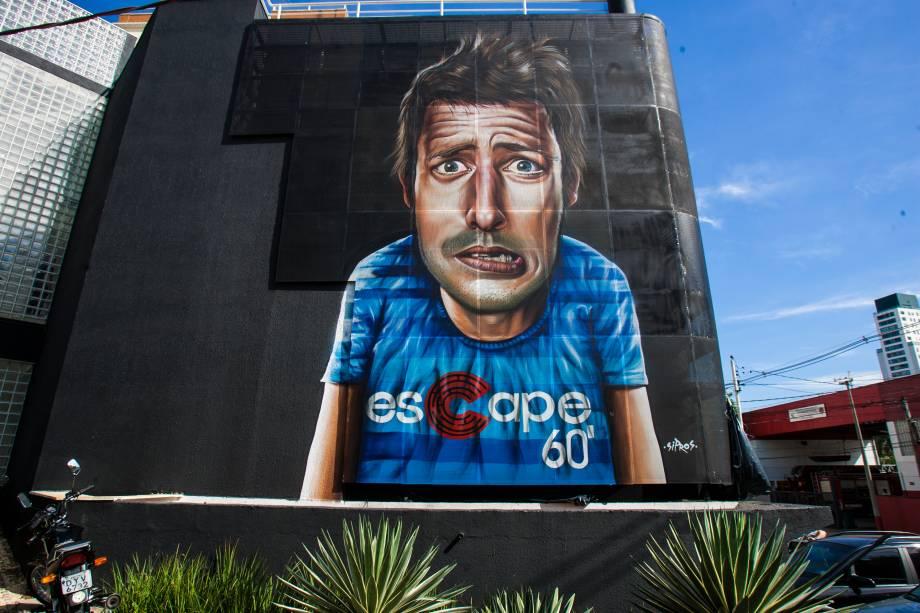 A fachada do imóvel, na Vila Olímpia