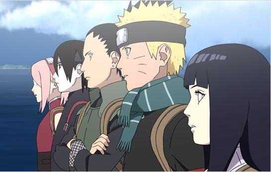 Naruto o Filme: animação japonesa