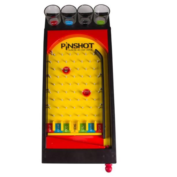 """Jogo de pinball com copos para shots, R$ 124,90, da <a href=""""http://uatt.com.br/"""" rel=""""Uatt?"""">Uatt?</a>"""