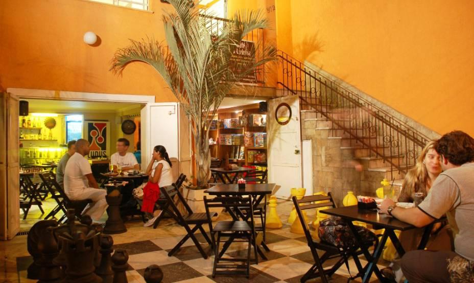 Ludus Luderia: bar que oferece jogos de tabuleiro, na Bela Vista