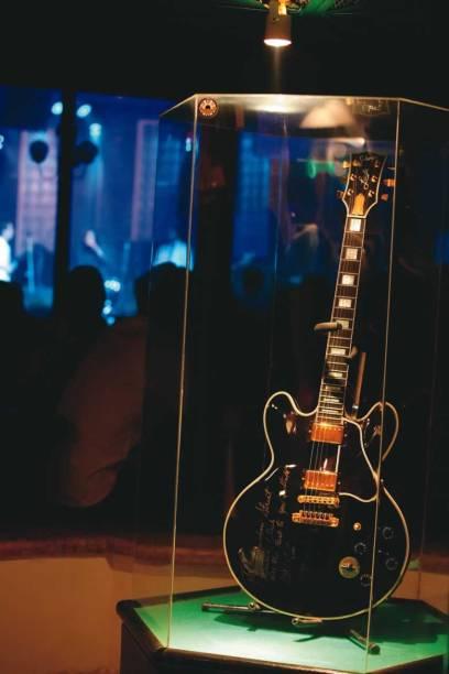 A guitarra de B.B.King no Bourbon Street em São Paulo