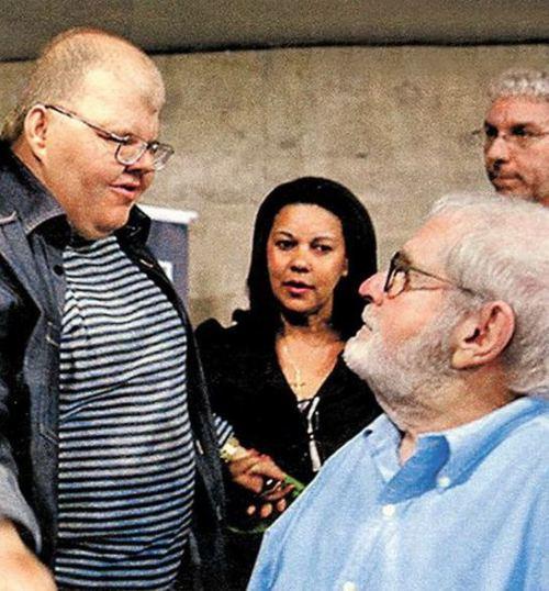 """Jô Soares com Rafael, que morreu aos 50 anos e sofria de autismo de """"alto nível"""""""