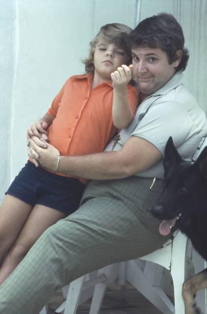 Jô Soares com o filho Rafael na década de 70