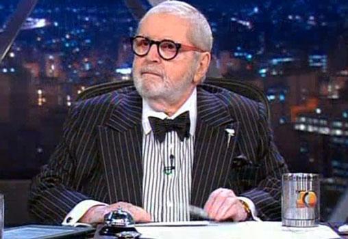 Jô Soares retomou as gravações de seu programa em setembro