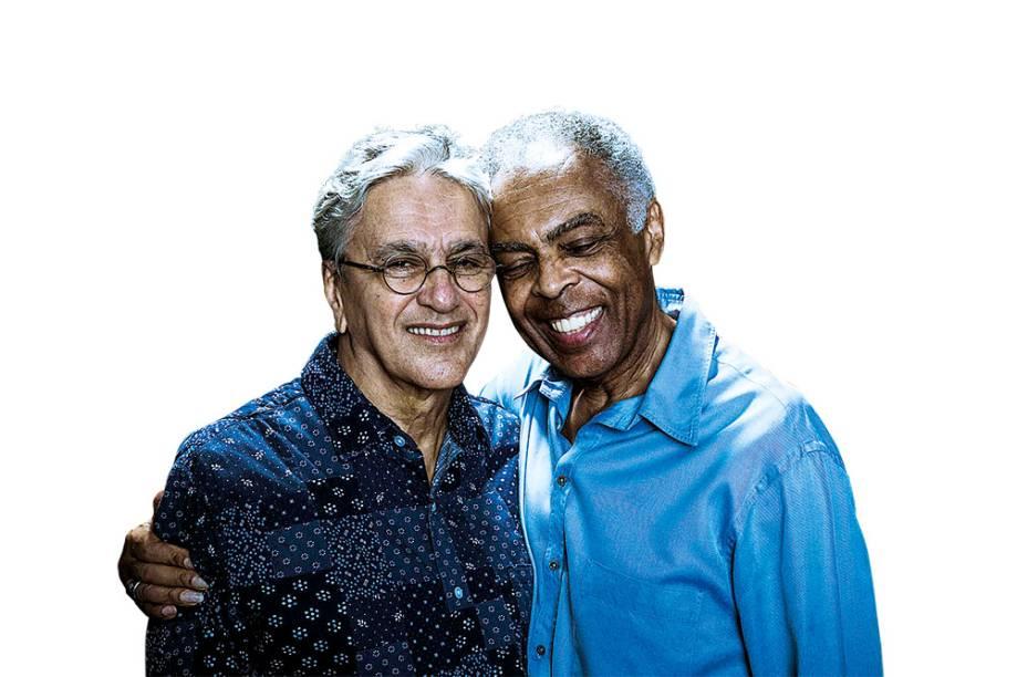 Caetano Veloso e Gilberto Gil se apresentam no Citibank Hall