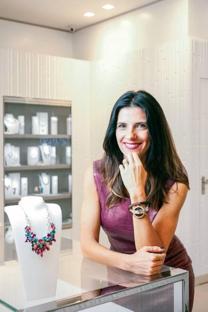 Carla Assumpção, diretora-geral de varejo da Swarovski. Essa será a décima loja na cidade e a maior da marca, com 70 metros quadrados