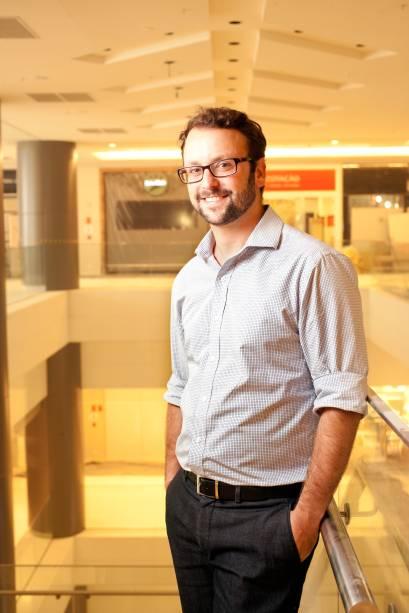 Renato Floh, diretor de novos negócios da Ri-Happy, que será a maior loja do shopping, com 953 metros quadrados. Marca inaugurará seu box em julho com um espaço Disney