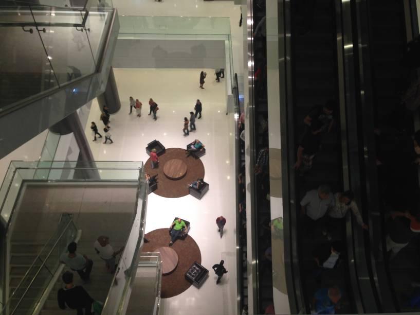 O shopping fica perto das estações de metrô Trianon Masp e Brigadeiro