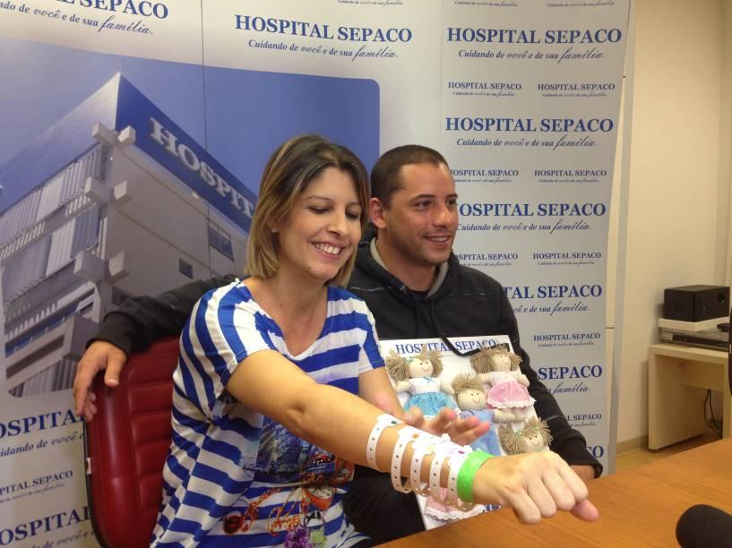 Karina vai precisar ir diariamente ao hospital para amamentar