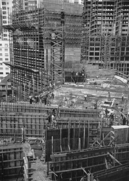 Copan: condomínio em construção na década de 1950