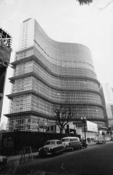 Copan: prédio na década de 1960