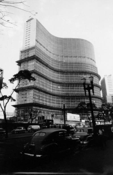 Copan: finalização do edifício na década de 1960