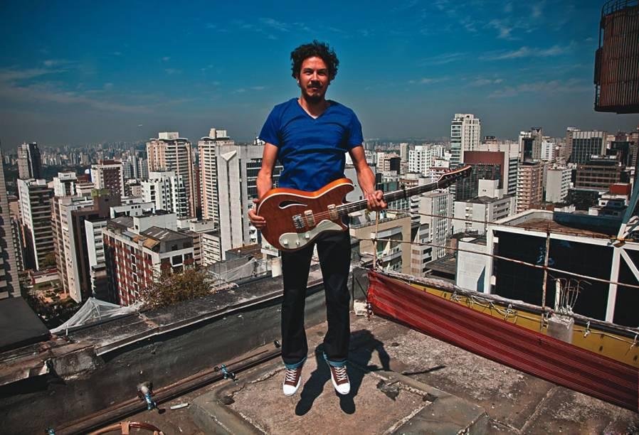 O cantor e compositor Siba: novo disco a caminho