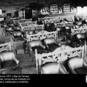 Terraço Itália: piano bar em 1971