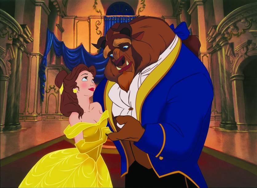 A Bela e a Fera: animação de 1991 ganha exibição em 3D nos cinemas