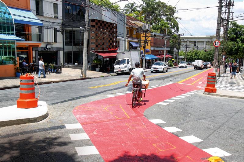 Rua Armando Penteado com Praça Vilaboim: traçado revisto depois de polêmica com moradores e comerciantes de Higienópolis