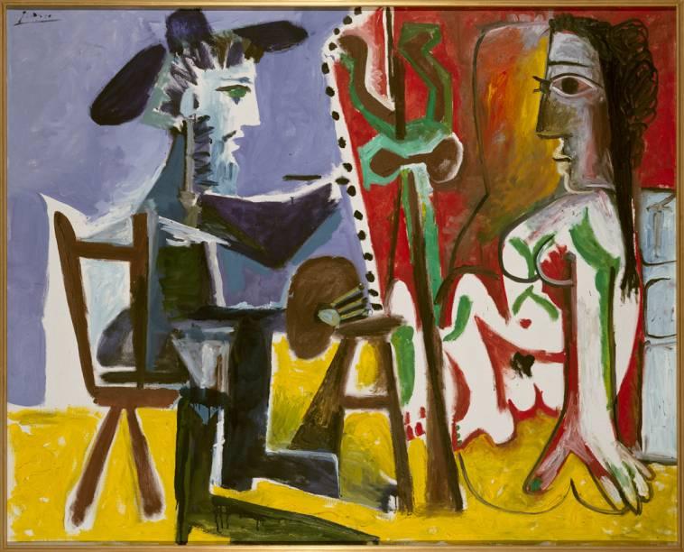 O Pintor e a Modelo (1963), de Pablo Picasso