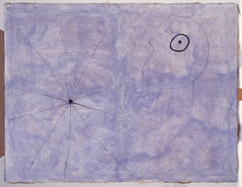 Pintura (Cabeça e Aranha), de Joan Miró (1925)