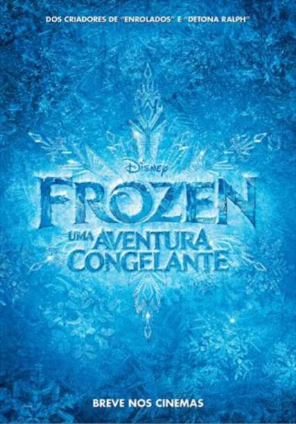 Frozen - Uma Aventura Congelante: pôster do filme