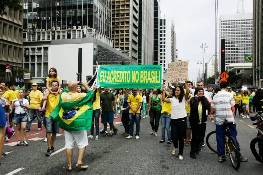 """Eu acredito no Brasil"""""""