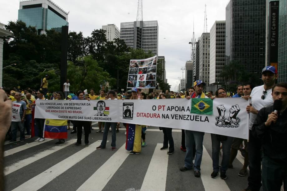 """O PT apoia a ditadura na Venezuela"""""""