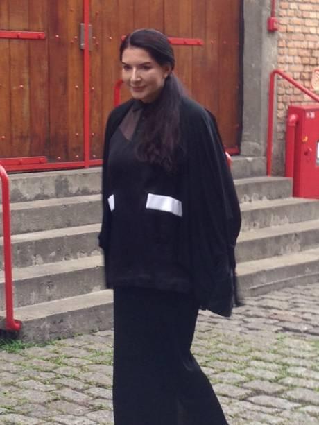 Marina Abramovic no Sesc Pompeia