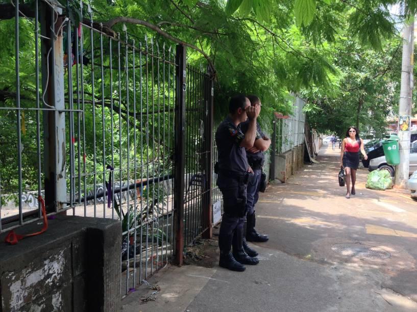 Parque Augusta: policiais foram acionados para cuidar das entradas do local um dia após reintegração