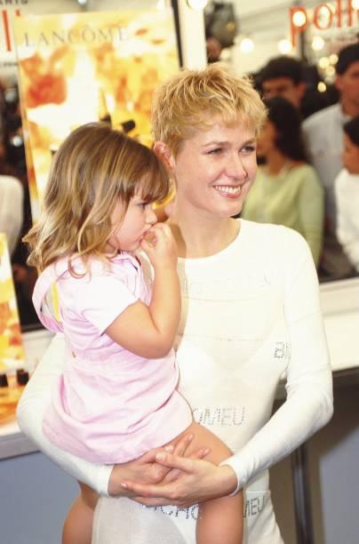 Xuxa com a filha Sasha