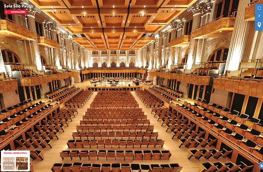 A Sala São Paulo: considerada o melhor espaço para concertos na América Latina