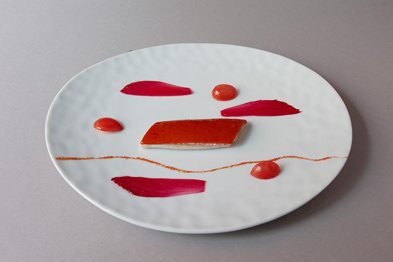 Maison Troisgros: um dos pratos vanguardistas, que ditam a decoração do lugar
