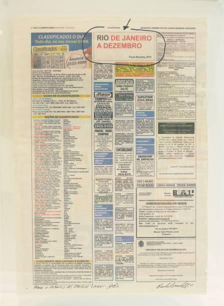 Intervenções artísticas no jornal só é notada por leitores atentos