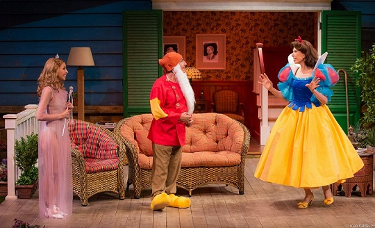 Cena da peça Vania e Sonia e Masha e Spike, que entra em cartaz na sexta (6), no Teatro Faap