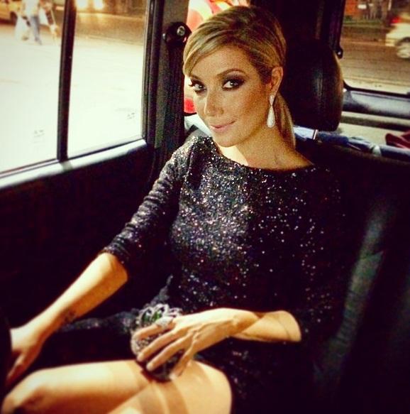 A cantora Luiza Possi, uma das mais de 600 pessoas convidadas