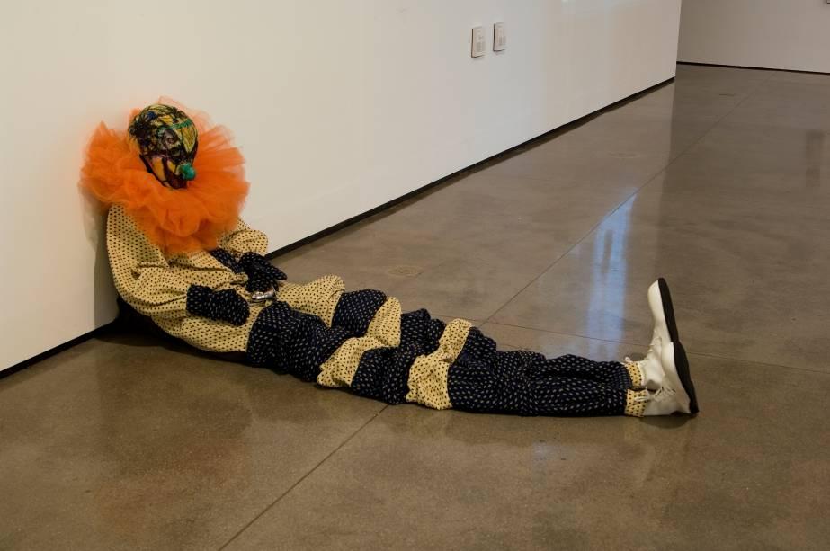 Palhaço com Buzina na mostra Museu Dançante
