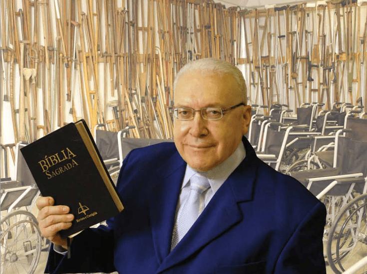 O missionário David Miranda