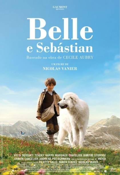 Belle e Sebastian: pôster do filme
