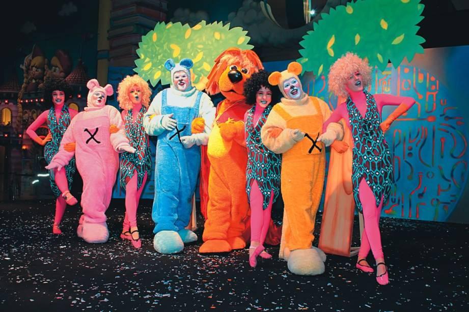 Musical <em>Além das Estrelas</em>, no Mundo da Xuxa: Txutxucão e outros personagens abordam o meio ambiente