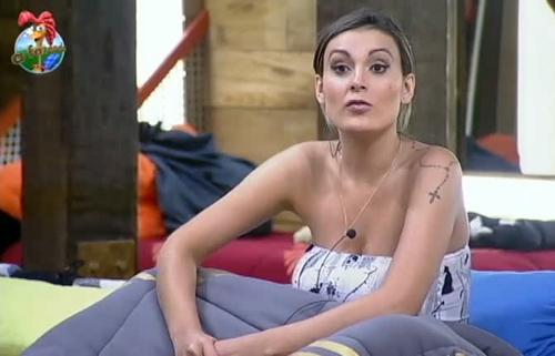 """Andressa Urach em sua participação em """"A Fazenda"""""""