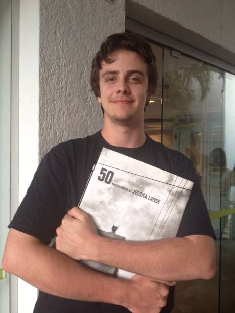 Carlos Müller, de 20 anos: veio de Porto Alegre para o evento