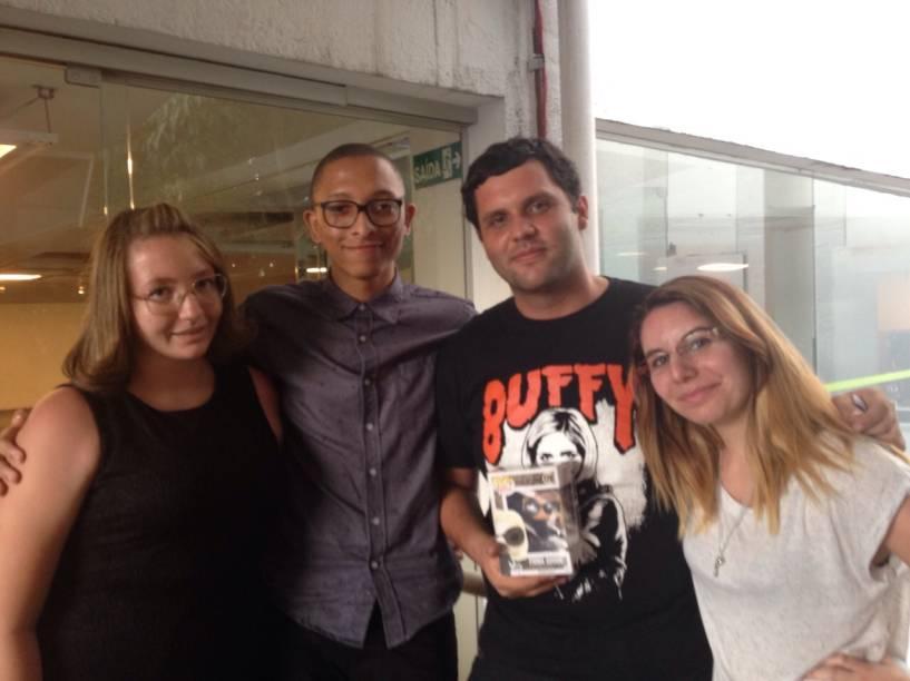 Natalia Molico, Paulo Nonato, Hermano Martins e Fernanda Albuquerque: turma reunida
