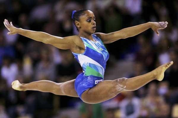 strong>Daiane dos Santos</strong>: foi flagrada em 2009. Ela alegou que a substância estava em um remédio de tratamento estético. Ficou afastada por cinco meses