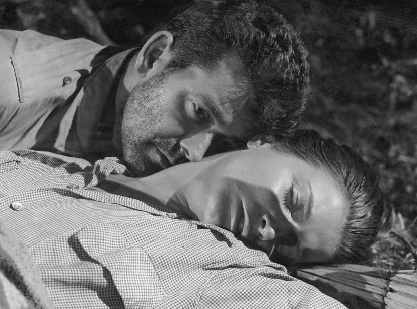 Anselmo Duarte e Odete Lara no filme <em>Arara Vermelha</em>