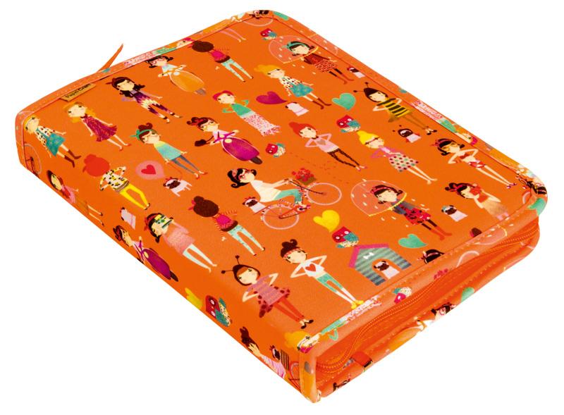 Fichário laranja da Papel Craft