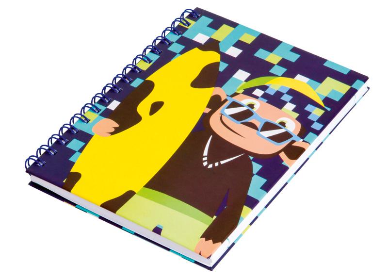 Caderno de anotações da Puket garante estilo para a volta às aulas