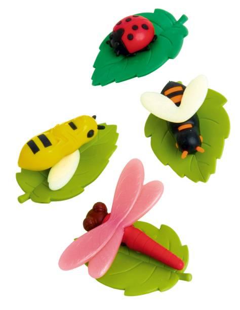 Borrachas fofas da Japonique para quem gosta de materiais coloridos